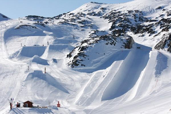 Les 2 alpes Snowpark