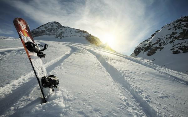 Planche de snow