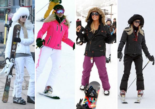 look-paris-hilton-ski-snowboard